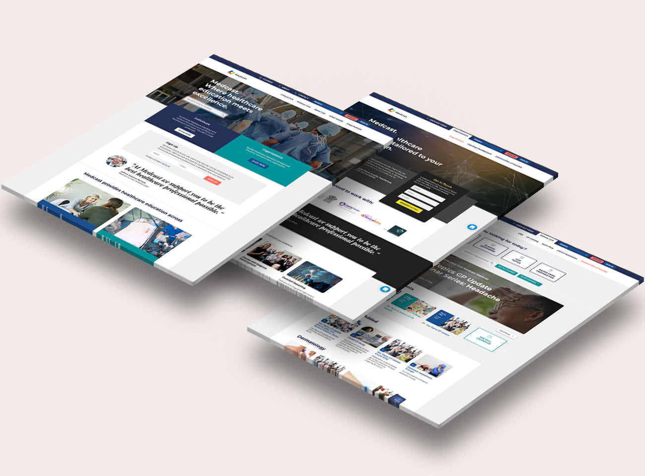 brand architecture and website