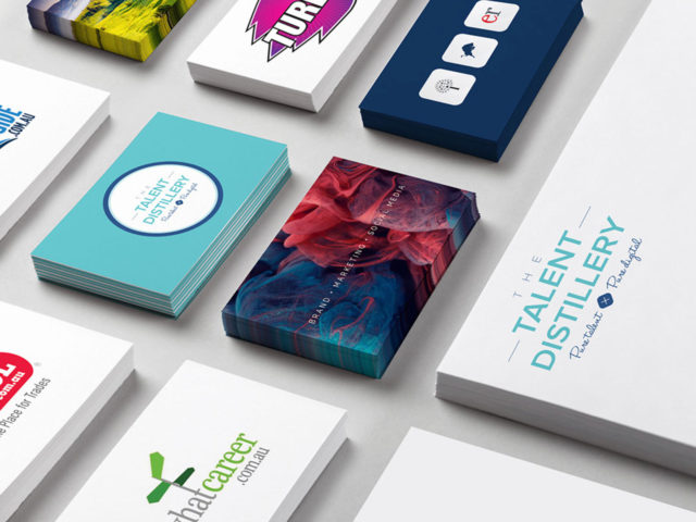 Business Cards Collateral Graphic Design