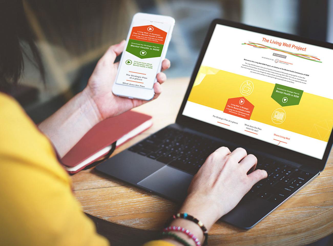 website-design-development-the-living-well-project