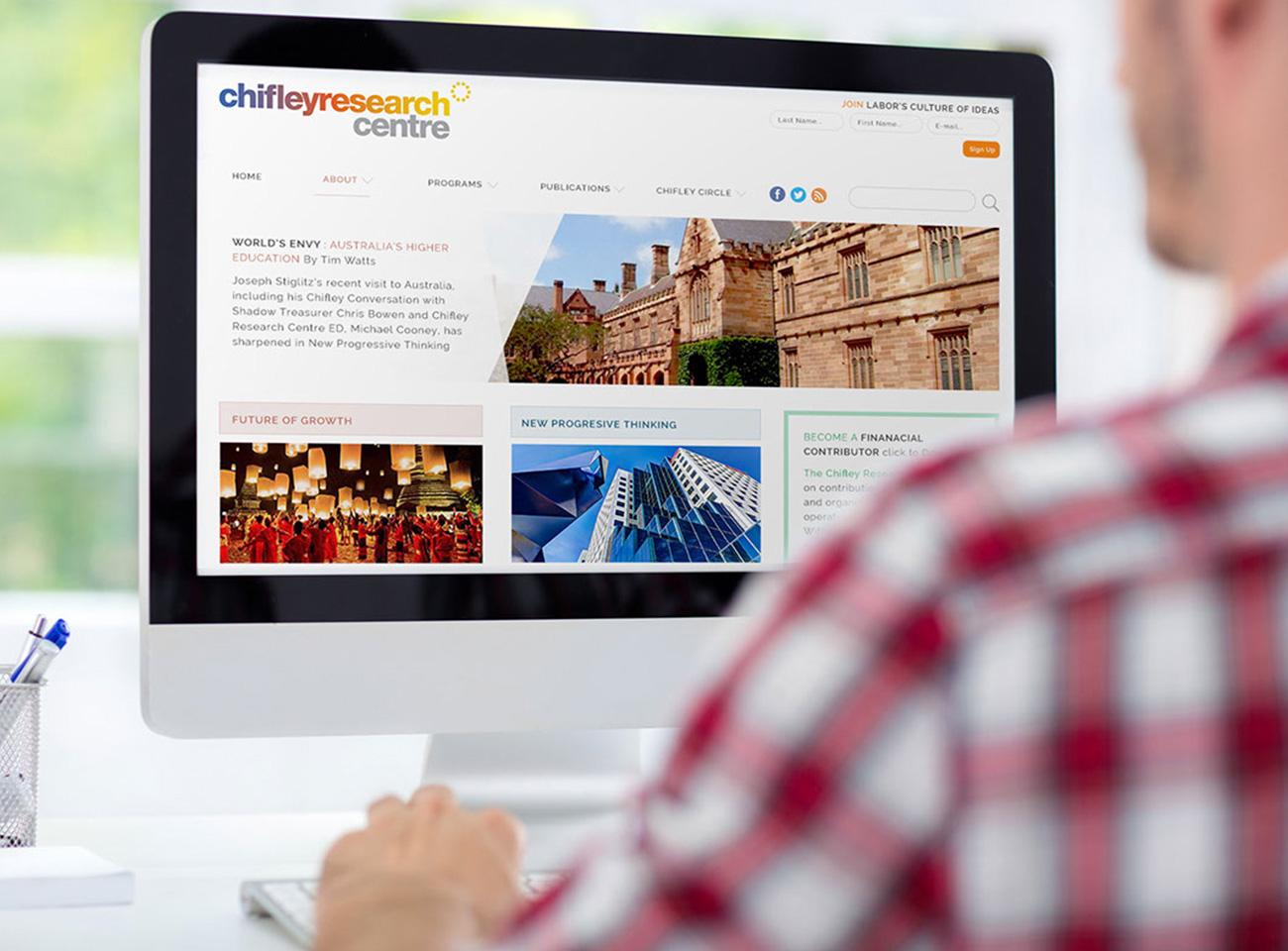 website-design-development-chifley-research-centre