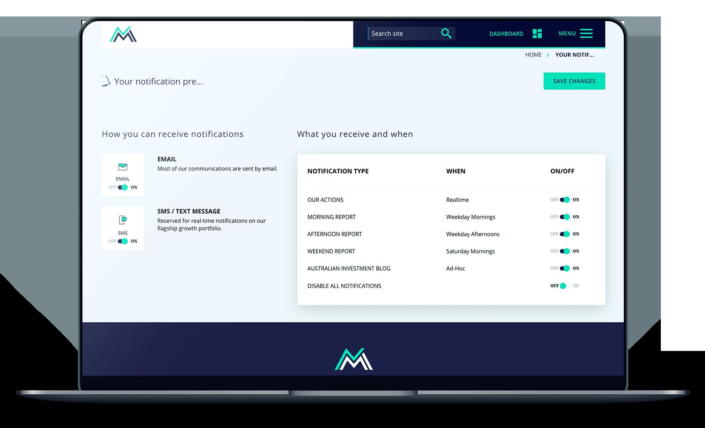 finance-website-design-notifications