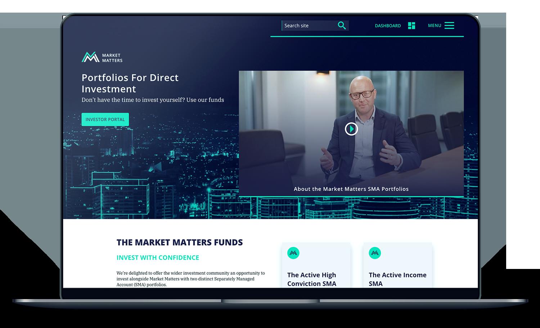 finance-website-design-portfolios